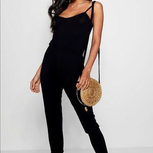 Stretchy black jumpsuit